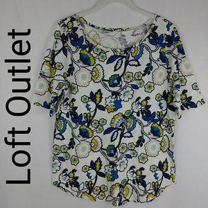 Loft Outlet | Floral Top Size Medium